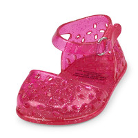 Baby Girls Cutout Jelly Ballet Flat | The Children's Place