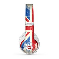 The Grunge Vintage Textured London England Flag Skin for the Beats by Dre Studio (2013+ Version) Headphones