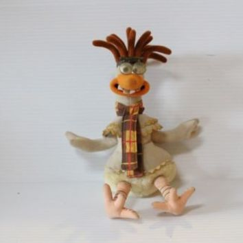 MAC Plush Stuffed Animal CHICKEN RUN Dreamworks Cartoon Collectible Character