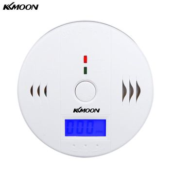 KKmoon High Sensitive Digital LCD Carbon Monoxide Detector Tester Sensor Fire Alarm CO Monitor CO Detector For Home Security