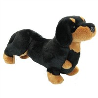 Spats the Plush Dachshund Puppy by Douglas