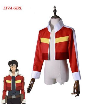 Cool Voltron:Legendary Defender of the Universe Keith Akira Kogane Cosplay Costume Jacket Coat Halloween Carnival Cosplay CostumesAT_93_12