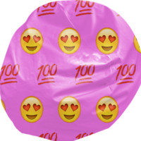 Pink/Emoji Bean Bag created by trilogy-anonymous | Print All Over Me