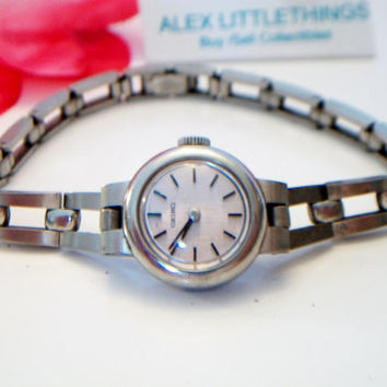 vintage Ladies Seiko wrist watch