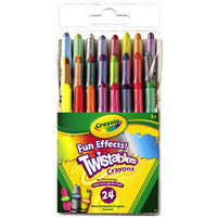 24 ct. Fun Effects Mini Twistables® Crayons