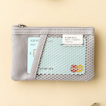 A low hill basic mesh pocket small pouch ver2