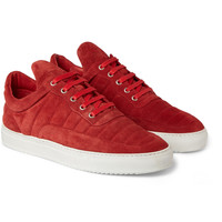 Filling Pieces - The Low Fuse Suede Sneakers | MR PORTER