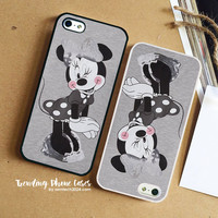 Grey Minnie Mouse  iPhone Case Cover for iPhone 6 6 Plus 5s 5 5c 4s 4 Case
