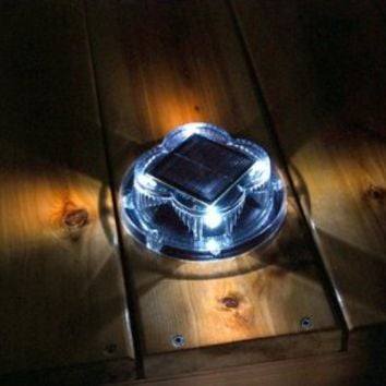 Britta Products Waterproof Puck Style Solar Dock Light
