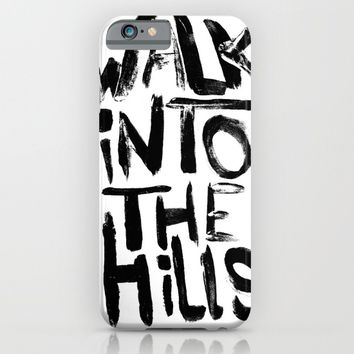 Walk into the hills iPhone & iPod Case by  Steve Wade ( Swade)