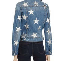 Bagatelle Star Patch Denim Jacket | Bloomingdales's