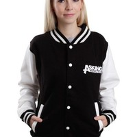Asking Alexandria - Eagle Black/White - College Jacket