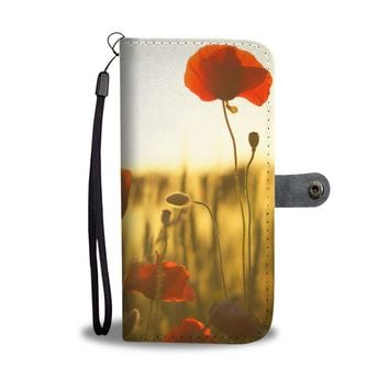 Field of Flowers Phone Wallet Case