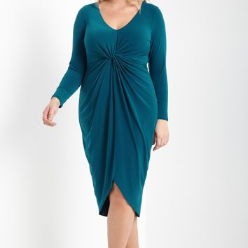 Mauden Midi Dress Plus Size