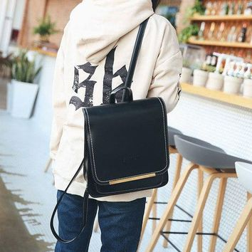 University College Backpack 2018 European and American fashion retro shoulder bag British  style simple fashion student AT_63_4