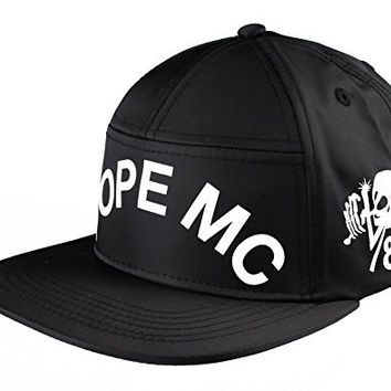 Dope Couture Black MC Snapback Hat