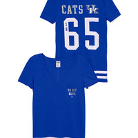 University of Kentucky V-Neck Pocket Tee - PINK - Victoria's Secret