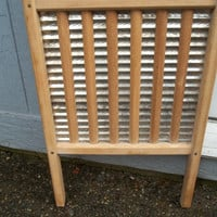 Vintage/Antique Columbia Washboard/Scrub Board Rustic