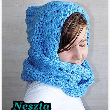 Best Crochet Hooded Infinity Scarf Products On Wanelo