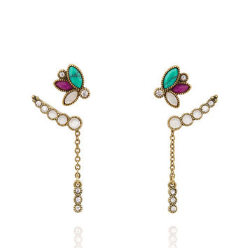 Jaipur Convertible Ear Climber + Stud Set