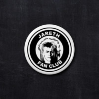 Jareth fan club button