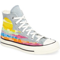 Converse x Mara Hoffman All Star® Embroidered High Top Sneaker (Women) | Nordstrom