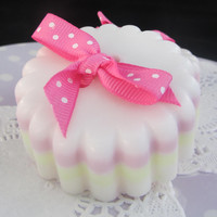 Cute as a button soap by MonetBath on Etsy