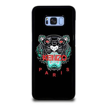 KENZO PARIS BLACK Samsung Galaxy S8 Plus Case Cover
