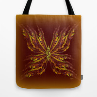 Butterfly Tote Bag by Giada Rossi