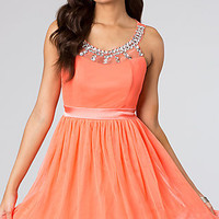 Sleeveless Party Dress by Ruby Rox