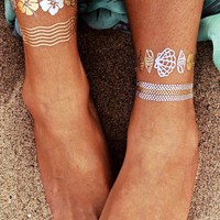 Flash Tattoos Goldfish H20 Tattoo Pack