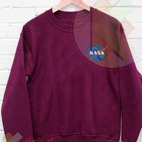 Nasa Sweatshirt Size S,M,L,XL by digitalprintcustom