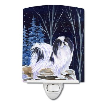 Starry Night Japanese Chin Ceramic Night Light SS8374CNL