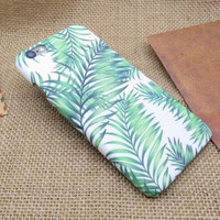Original Coconut Leaves iPhone 7 5se 5s 6 6s Plus Case Cover + Nice Gift Box