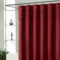 Roxanne Red Shower Curtain