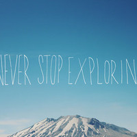 Never Stop Exploring III Art Print by Leah Flores | Society6