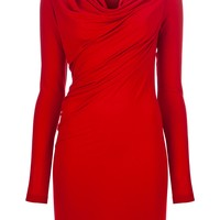 Donna Karan Cowl Neck Dress