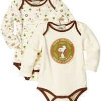 Franco Apparel Baby-Girls Infant Snoopy Peanuts 2 Piece Bodysuit Set