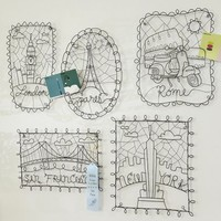 Wire Decor Cities