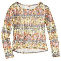 Mossimo Supply Co. Juniors High Low Knit Sweater - Assorted Colors and Prints