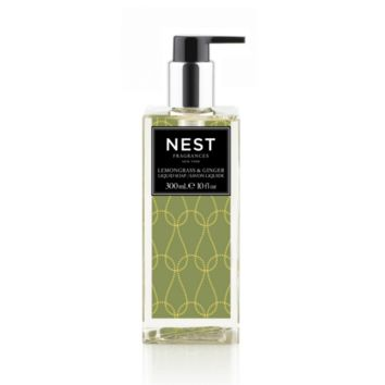 Lemongrass & Ginger Liquid Soap by Nest