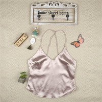 Bralette Beach Comfortable Stylish Sexy Hot Women's Fashion Summer Shirt Spaghetti Strap Vest [9052507460]