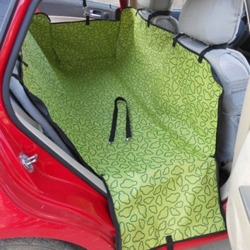 Rear Back Seat Carrier Cover Pet Dog Mat Blanket Cover