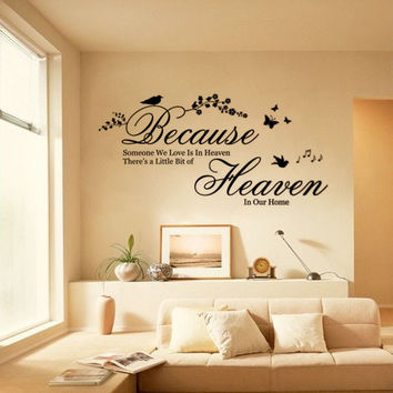 Creative Decoration In House Wall Sticker. = 4799306500