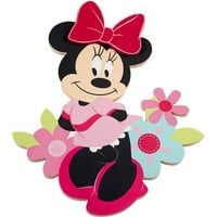 Disney Minnie Mouse Shaped Wall Art - Walmart.com