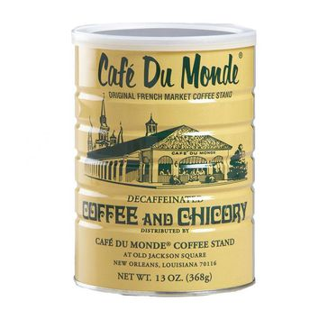 Cafe du Monde Decaffeinated Coffee & Chicory, 13 oz (368 g)