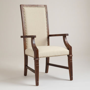 Rustic Java Greyson Armchair, Set of 2 - World Market