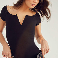 Out From Under V Wire Off-The-Shoulder Bodysuit - Urban Outfitters