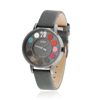 Colorful Leather Watch