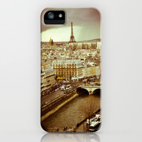 A Rainy Day in Paris iPhone & iPod Case by Carmen Marie